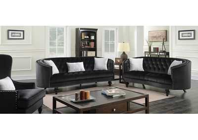Image for Manuela Black Loveseat
