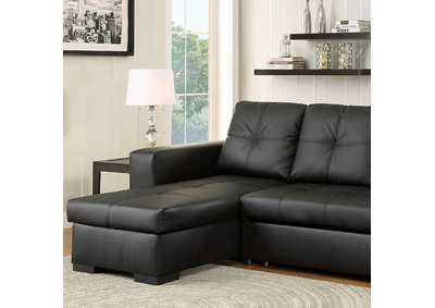 Image for Denton Black Sectional