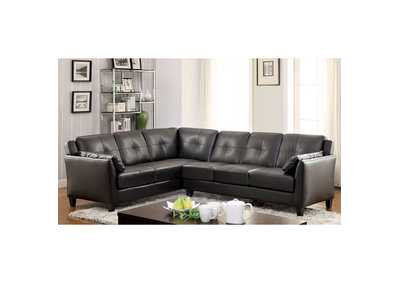Image for Peever Black Sectional