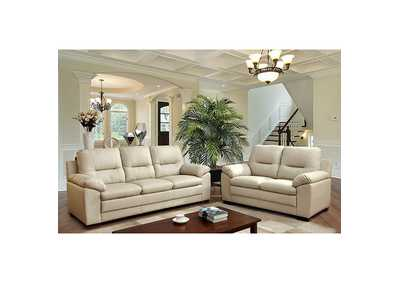 Parma Ivory Sofa,Furniture of America