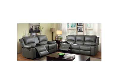 Image for Sarles Gray Motion Loveseat