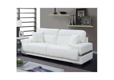 Image for Zibak White Sofa