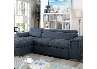 Patty Blue Gray Sectional