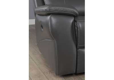 Lila Gray Recliner,Furniture of America
