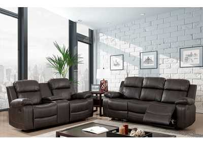 Pondera Dark Brown Recliner