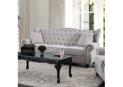 Ewloe Gray Sofa,Furniture of America