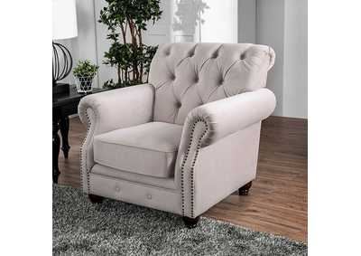 Tamika Beige Chair,Furniture of America