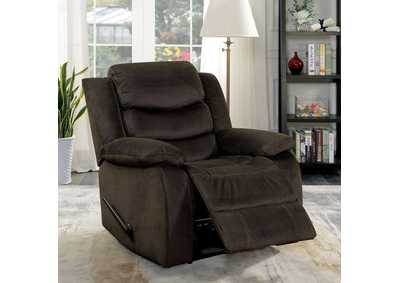 Image for Dena Dark Brown Recliner