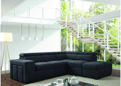 Athene Graphite Sectional