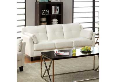 Image for Pierre White Sofa