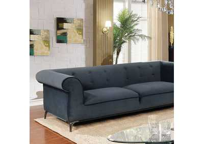 Gresford Navy Stationary Sofa