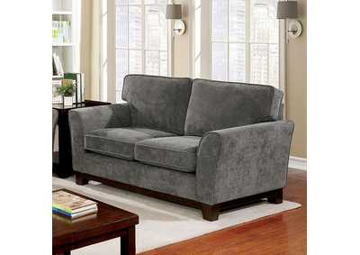 Caldicot Gray Loveseat