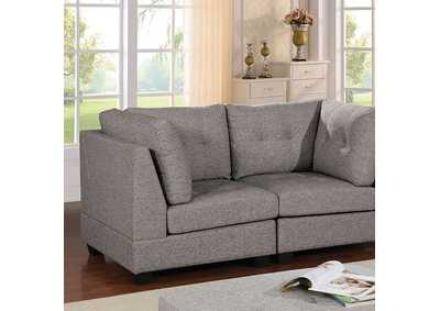 Pencoed Gray Loveseat
