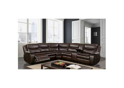 Pollux Brown Sectional