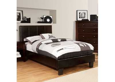 Image for Winn Park Espresso Upholstered California King Platform Bed