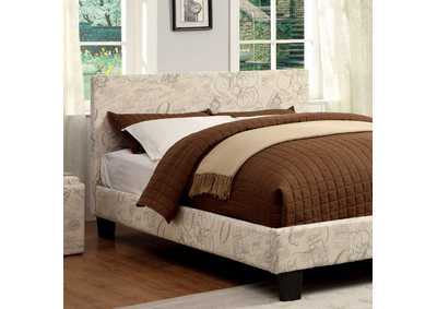 Image for Winn Park World Traveler Upholstered Twin Platform Bed