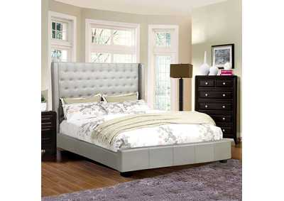 Image for Mira II Silver Eastern King Platform Bed