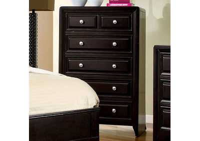 Yorkville Espresso Drawer Chest,Furniture of America