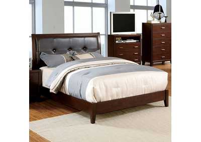 Enrico I Brown Queen Platform Bed