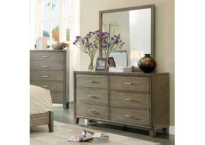 Enrico I Gray Dresser,Furniture of America
