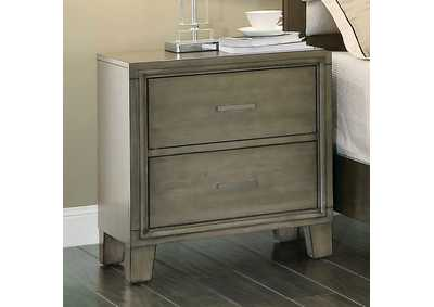 Image for Enrico I Gray Nightstand