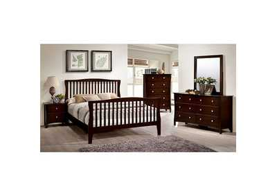 Image for Riggins Brown Eastern King Panel Bed