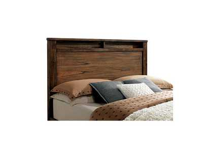 Image for Elkton Oak Eastern King Panel/Storage Bed