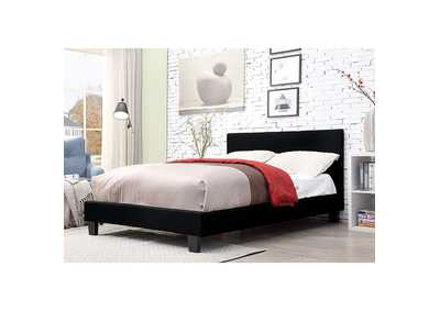 Sims Black Twin Bed,Furniture of America