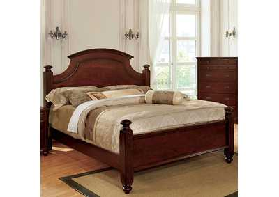 Image for Gabrielle II Cherry Eastern King Poster Bed