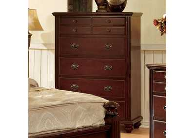 Image for Gabrielle II Cherry Drawer Chest