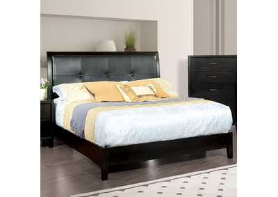 Enrico Brown Cherry Queen Bed