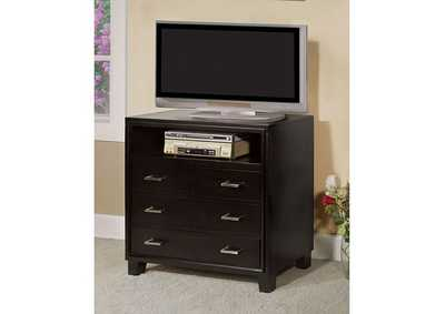 Gerico II Espresso Media Chest,Furniture of America