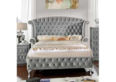 Alzir Gray Queen Bed,Furniture of America
