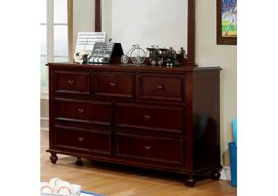 Image for Olivia Dark Walnut Dresser