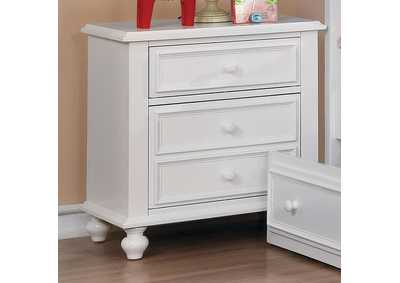 Image for Olivia White Nightstand