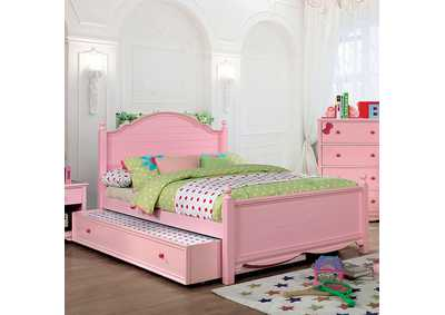Image for Dani Pink Twin Platform Bed (Trundle Not Included)