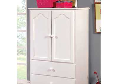 Image for Dani White Armoire