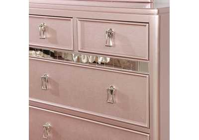 Avior Rose Gold Dresser,Furniture of America