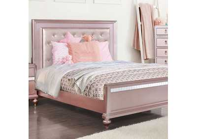 Avior Rose Gold Queen Bed