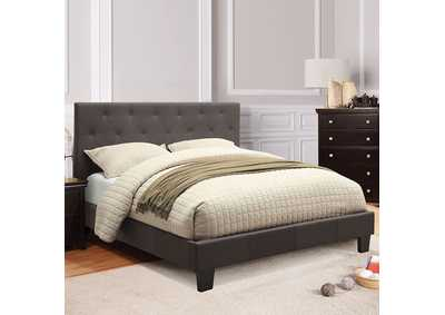 Image for Leeroy Dark Grey Twin Platform Bed