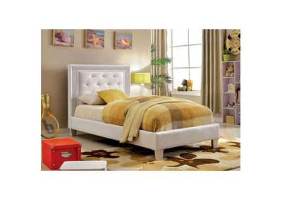 Image for Lianne White Twin Bed