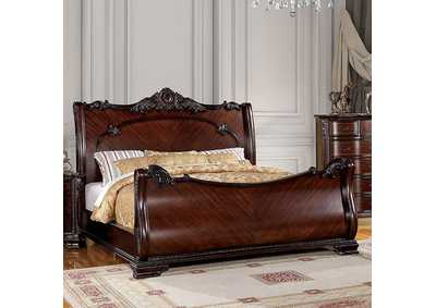 Image for Bellefonte Brown California King Sleigh Bed