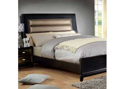 Golva Black Queen Bed