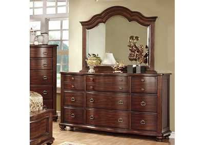 Bellavista Brown Cherry Dresser,Furniture of America