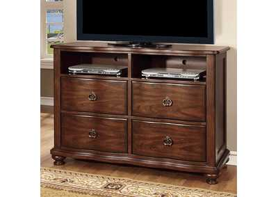 Image for Bellavista Brown Cherry Media Chest