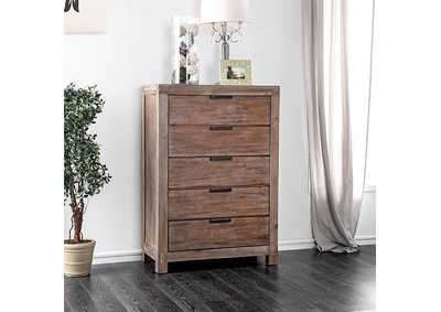Wynton Weathered Light Oak Chest,Furniture of America