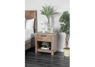 Wynton Weathered Light Oak Night Stand