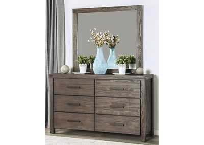 Rexburg Wire-Brushed Rustic Brown Dresser,Furniture of America