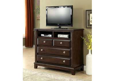 Image for Litchville Brown Cherry Media Chest