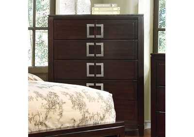 Balfour Brown Chest,Furniture of America